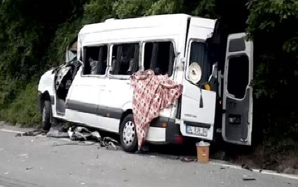 Beykoz'da zincirleme kaza ölü ve yaralılar var
