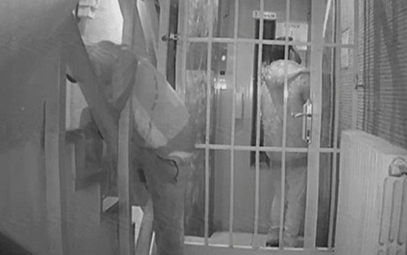 Başkentte hırsızlar güvenlik kameralarına yakalandı