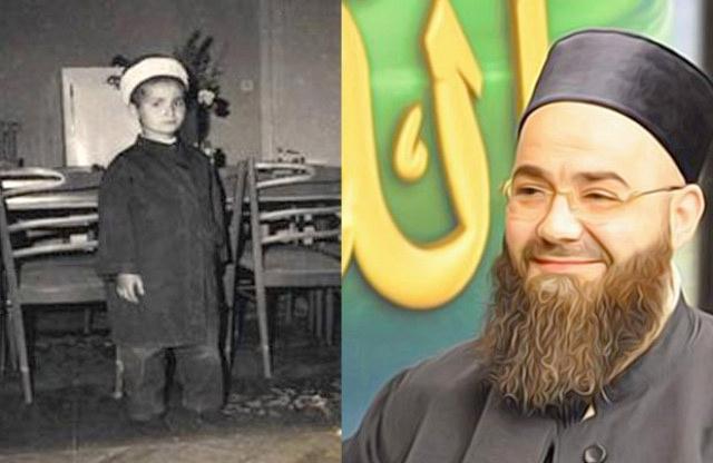 Cübbeli Ahmet Hoca'nın 47 yıl önce çekilmiş fotoğrafı