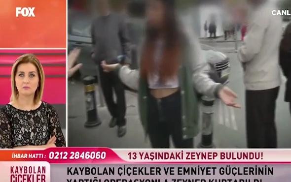 13 yaşındaki Zeynep kendisini kaçıran çetenin elinden kurtarıldı