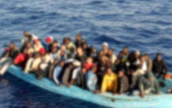 Antalya'da kaçak göçmenler yakalandı