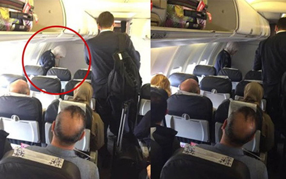 Yolcu uçağında Emine Erdoğan sürprizi