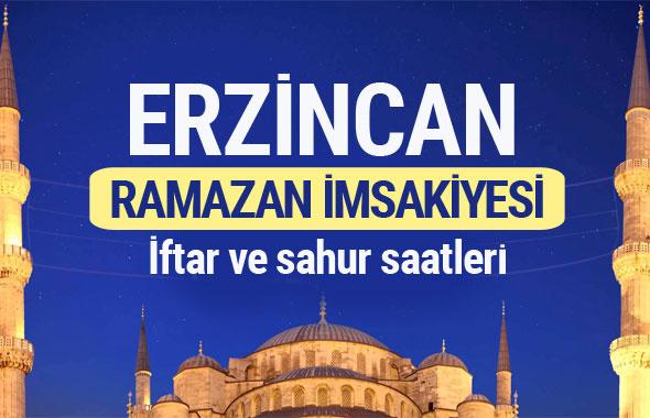 Erzincan Ramazan imsakiyesi 2017