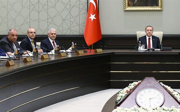 Yeni kabine listesi AK Parti MYK'ya giren isimler
