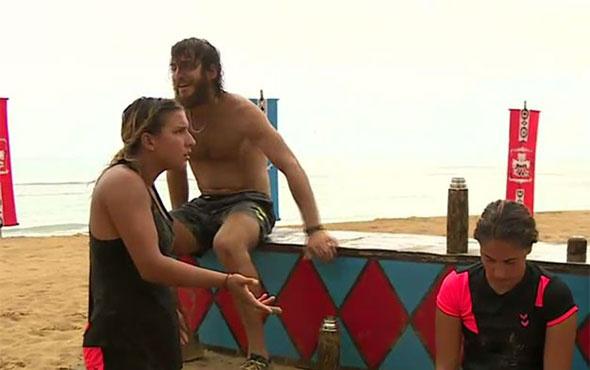 Survivor'da Elif ve Gökhan arasında gerginlik yaşandı!
