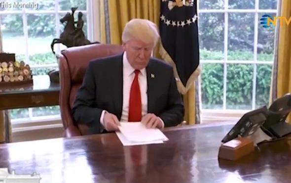 Trump sinirlenip röportajı bitirdi