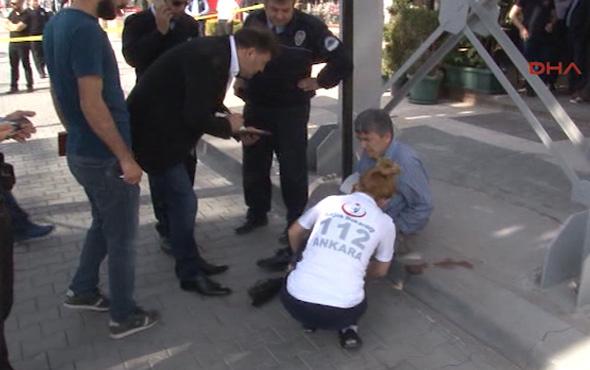 Polisin 'dur' ikazına uymayan bir kişi bacağından vurularak yakalandı