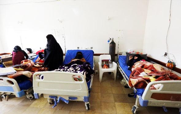 Yemen'deki kolera salgınında bilanço her gün artıyor