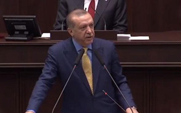 Erdoğan'dan FETÖ resti iade ettiniz ettiniz etmezseniz...