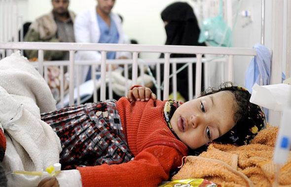 Yemen'de şok tablo! Kolera salgınında 532 ölü