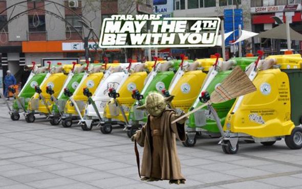 Sosyal medyada Star Wars çılgınlığı