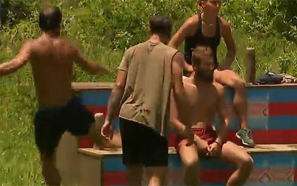 Survivor'da oyunu kaybeden Serhat Akın çılgına döndü!