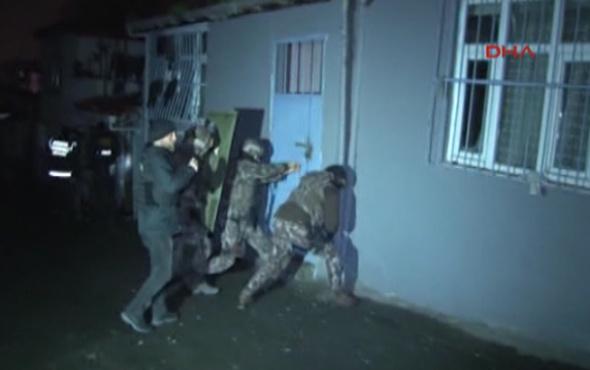 İstanbul'da PKK/KCK operasyonu