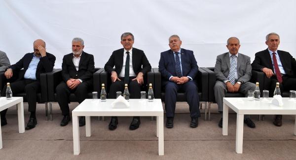 Abdullah Gül'e iki sürpriz isimden taziye ziyareti!