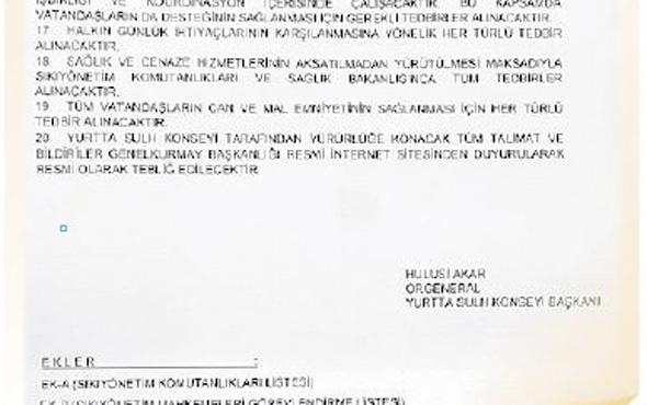 Genelkurmay'da yeni belgeler çıktı çarpıcı Hulusi Akar detayı