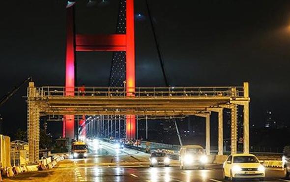 15 Temmuz Şehitler Köprüsü'nde yeni dönem