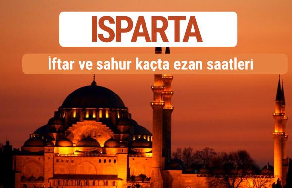 Isparta iftar ve sahur vakti imsak ezan saatleri