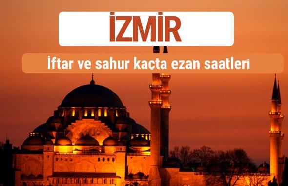 İzmir iftar ve sahur vakti imsak ezan saatleri