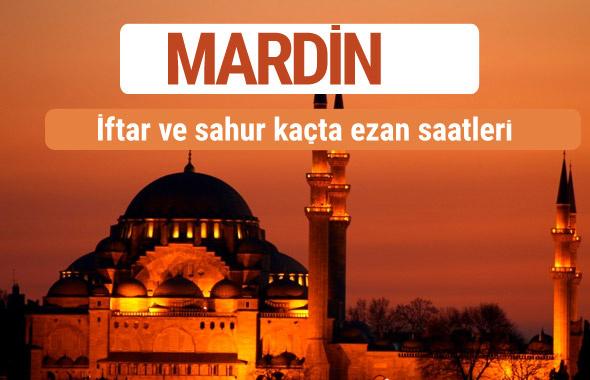 Mardin iftar ve sahur vakti imsak ezan saatleri