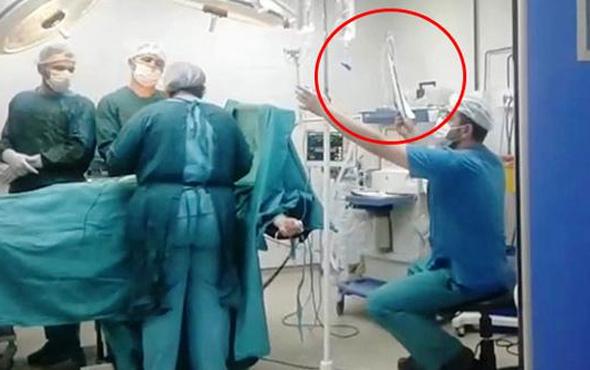 Skandal görüntüler için hastaneden açıklama