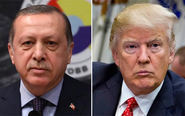Donald Trump'tan Erdoğan'a Katar telefonu