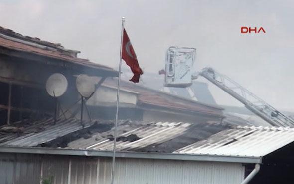 Ankara'da Sanayi Bölgesi'nde patlama!