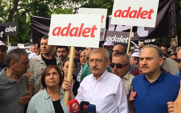 Kemal Kılıçdaroğlu yürüyüşe başladı ilk görüntüler