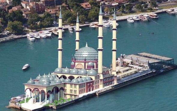 Galatasaray Adası'na cami yapılacak!