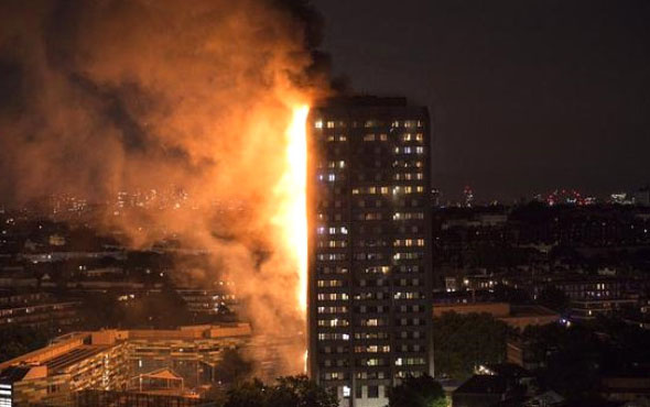 Londra'daki yangında hayatını kaybedenlerin sayısı artıyor