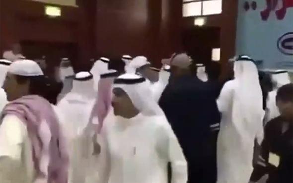 Suudi ve Katar heyetleri birbirine girdi