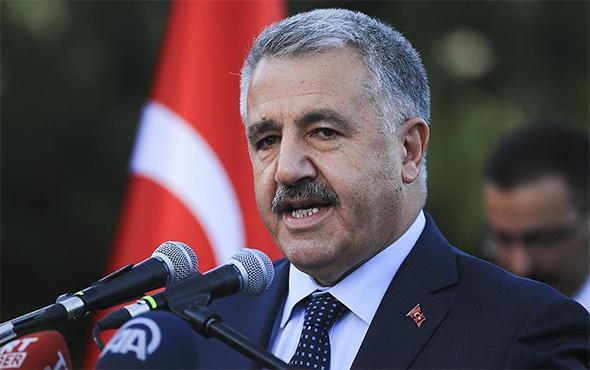 Bakan Arslan, Çamlıca TV Radyo Kulesi inşaatını gezdi