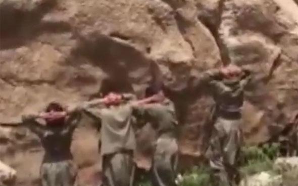Siirt'te sıkışan kadın teröristler teslim oldu
