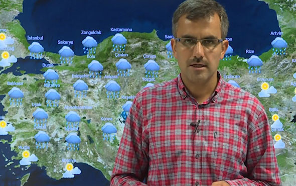 Meteoroloji Genel Müdürlüğü'ndan hava durumu