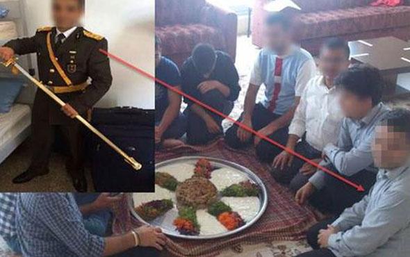 Kaynak Holding'den çıktı 'Maklube' sofrasındaki asker