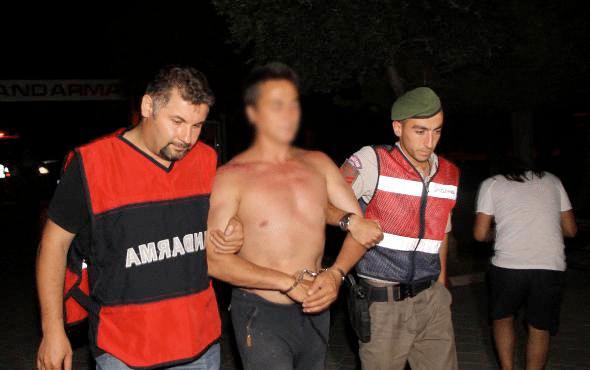 Cinayet şüphelisi kamp yaparken yakalandı