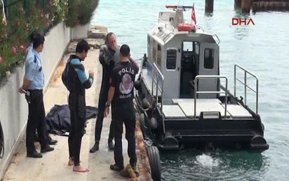 Karaköy'de denizden ceset çıktı!