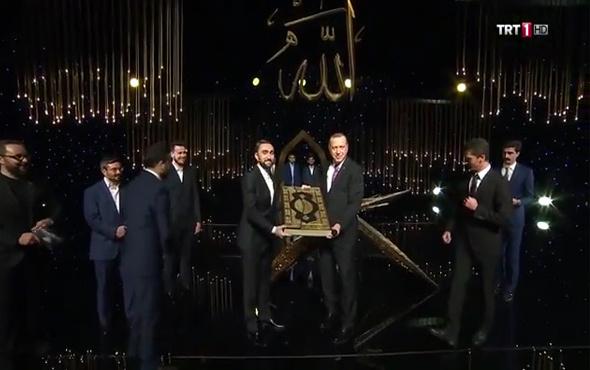 Cumhurbaşkanı Recep Tayyip Erdoğan 'Kur'an-ı Kerim'i Güzel Okuma Yarışması' finaline katıldı