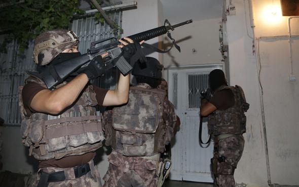 Adana'da PKK operasyonu çok sayıda gözaltı var