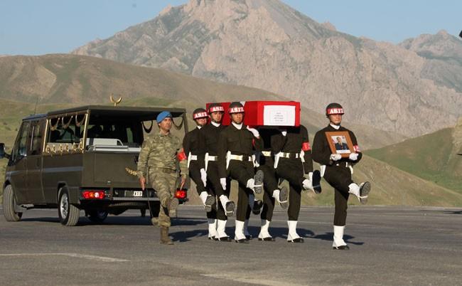 Şehit Yahşi'nin cenazesi memleketine gönderildi
