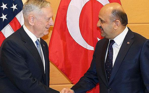 Bakan Işık, ABD Savunma Bakanı ile görüştü