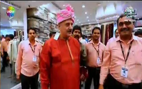 Faik Öztürk'ün Hindistan kıyafetleriyle imtihanı