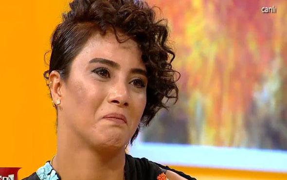 Sabriye canlı yayında ağlamamak için kendini zor tuttu!