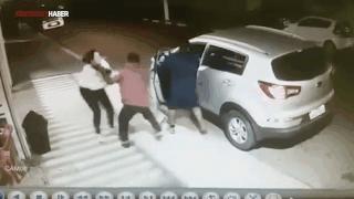 Bebeği için hırsızlara böyle direndi