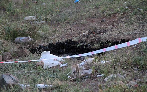 Elazığ'da yanmış erkek cesedi bulundu