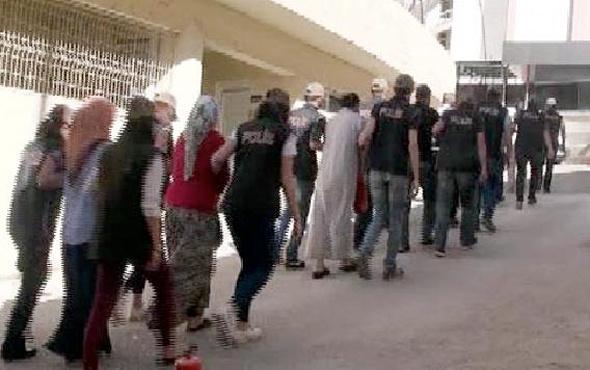 Gaziantep'te son dakika gözaltı açıklaması