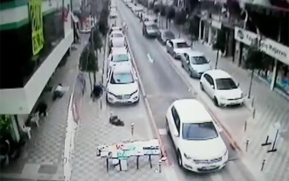 İstanbul Güngören'deki silahlı çatışma güvenlik kamerasında