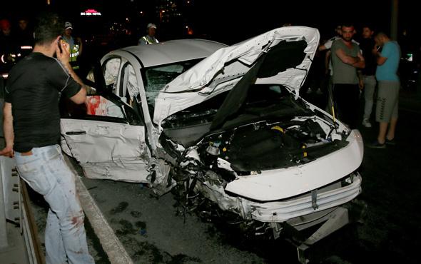 Şişli'de trafik kazası: 1 ölü, 2 yaralı