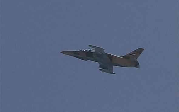 Esed rejimine ait savaş uçağı düşürüldü iddiası