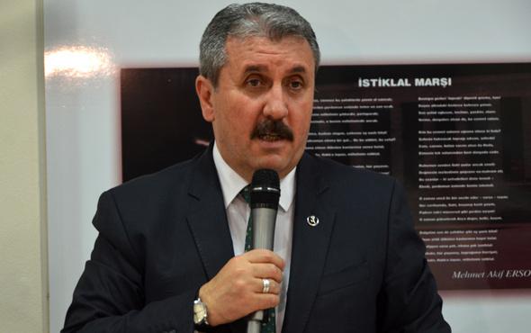 Destici'den Katar ve İran açıklaması