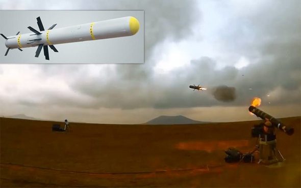 TSK yeni milli füzesine kavuştu hedefi 12'den vurdu
